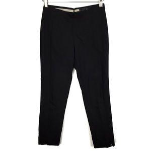 Versona Contemporary Black Seamed Slim Pant